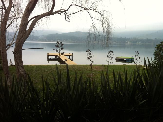 lago  vichuquen - Casa El Boldo  , punta del barco , Vichuquén
