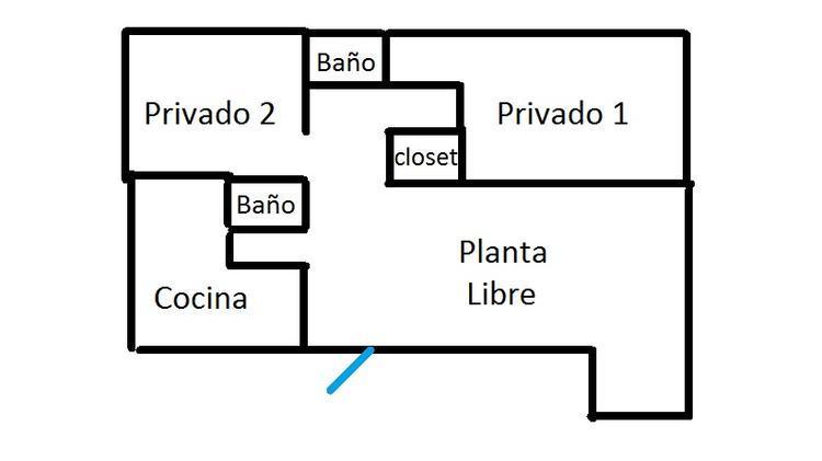 a pasos del metro ESCUELA MILITAR / Av APOQUINDO , Oficina de 83 mt2, Excelente estado con 3 Privados + SALA DE REUNIONES