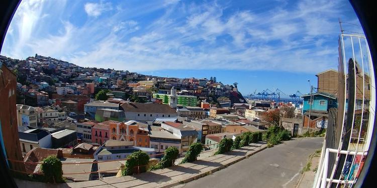 Merlet # 7 Cerro Cordillera Valparaiso.