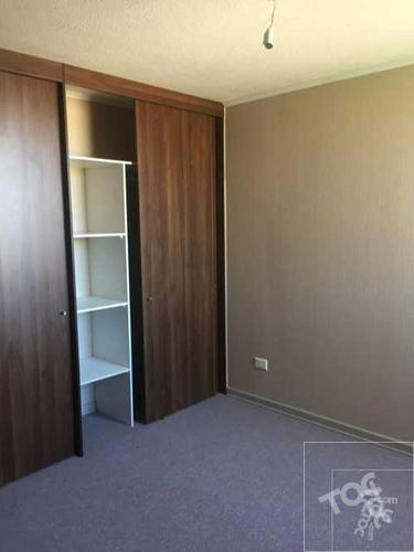 Departamento nuevo cuarto piso, excelente ubicación en condominio, Hugo Bravo con Américo Vespucio, Maipú (calle Tierra Fértil 1835)