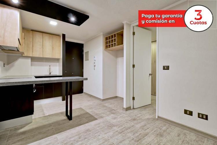 Espectacular depto 1 dormitorio en Lira 320 Santiago Centro