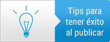 Tips para publicar